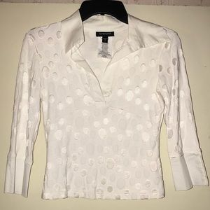 BEBE white top Size: M in juniors.